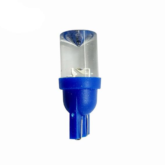 Lampara Led T10 12v 10mm Concava X50 Pares