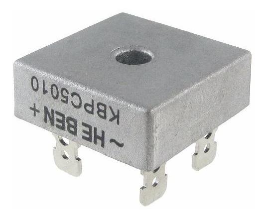 Kit 2 Diodo Ponte Retificadora Kbpc5010 50a 1000v