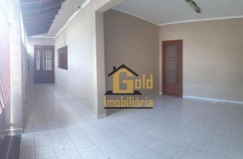 Casa Com 2 Dormitórios À Venda, 99 M² Por R$ 240.000,00 - Jardim Piratininga - Ribeirão Preto/sp - Ca0959