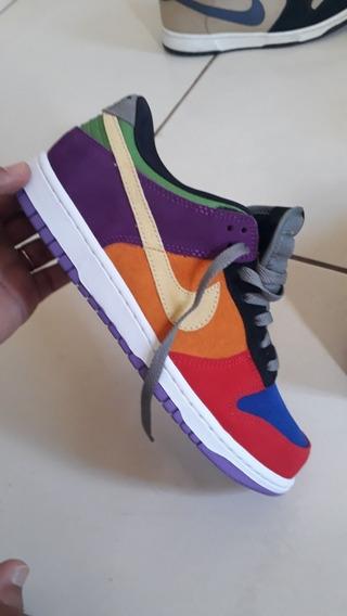 Tênis Nike Dunk Low Viotech 2019 Skate Jordan Force