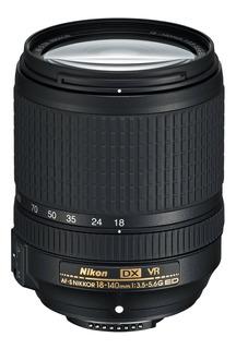 Lente Nikon 18-140 Vr F/3.5-5.6g Ed Vr Af-s Dx /garantía