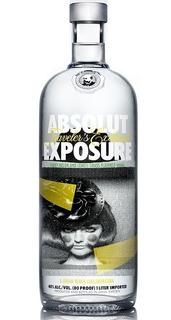 Vodka Absolut Exposure De Litro Limitada Envio Gratis Caba