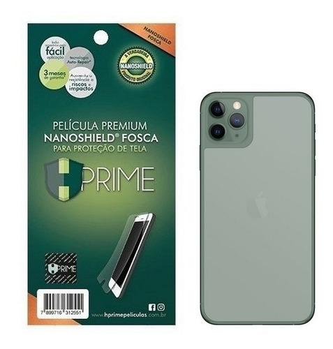 Imagem 1 de 4 de Película Traseira iPhone 12 & 12 Pro Nanoshield Fosca Hprime
