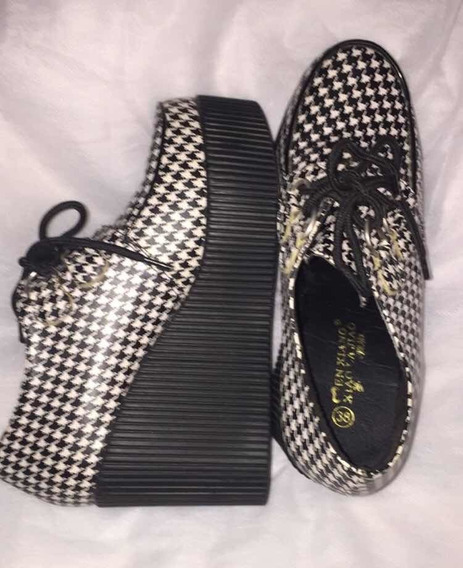 Sapato Oxford Estampa Pieddepoule
