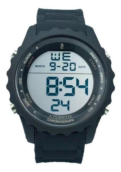 Relógio Digital Masculino Atlantis Resistente A