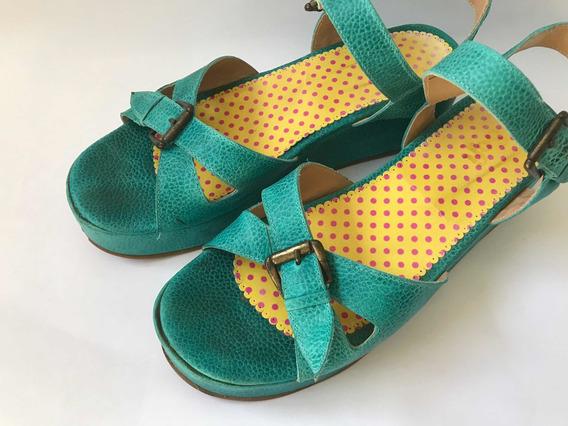 Zapatos Sandalias Con Hebillas Y Plataforma Sofi Martire