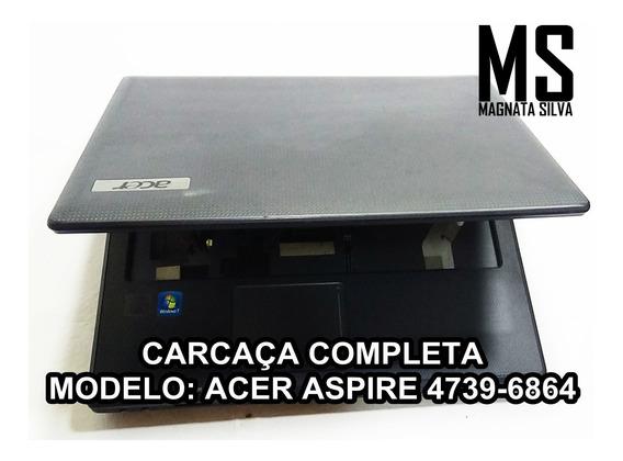 Carcaça Completa Notebook Acer Aspire 4739-6864