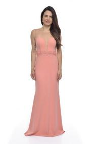 89fc70453 Vestido Colcci Tomara-que-caia Cor Rosa - Vestidos Longos Femininas ...
