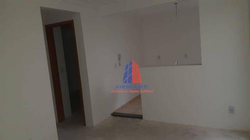 Apartamento Com 2 Dormitórios À Venda, 47 M² Por R$ 144.000,00 - Jardim Bertoni - Americana/sp - Ap1547