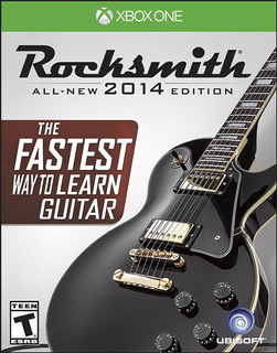 Rocksmith 2014 Edition +cable Xbox One Nuevo