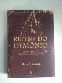 Livro Reféns Do Demônio + São Basílio Carta Aos Jovens