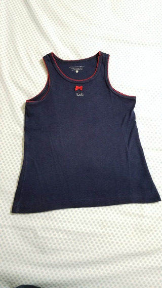 Musculosa P/nena Talle 10y Little Akiabara Impecable!!