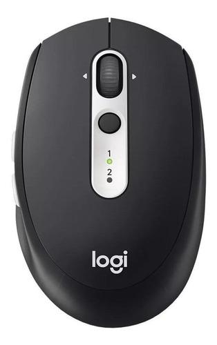 Imagen 1 de 3 de Mouse inalámbrico Logitech  Multi-Device M585 graphite