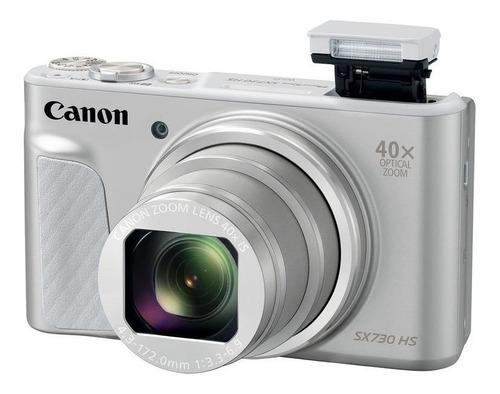 Imagem 1 de 3 de Canon PowerShot SX730 HS cor  prateado