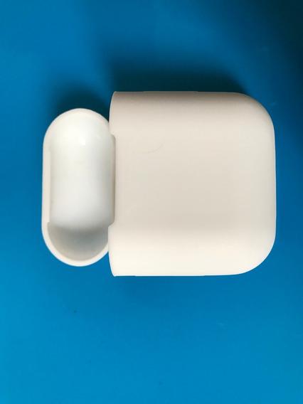 Case De Silicone Para Porta Fone De I-pod (branco)