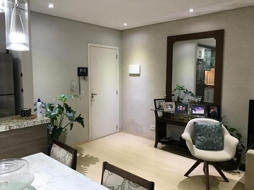 Apartamento Em Bosque Dos Esquilos, Cotia/sp De 54m² 2 Quartos À Venda Por R$ 270.000,00 - Ap726756