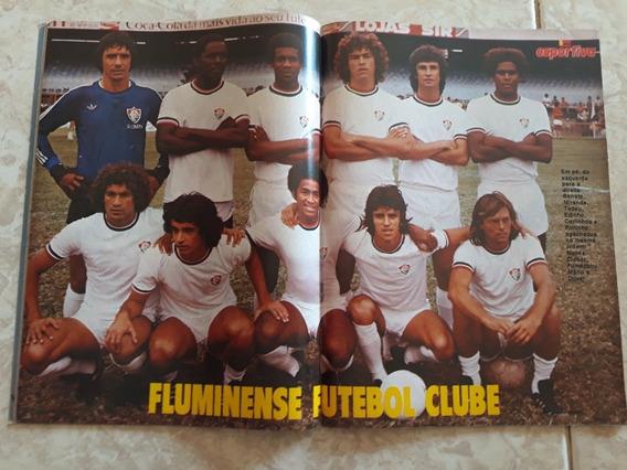 Manchete Esportiva # 55 Pôster Fluminense 78