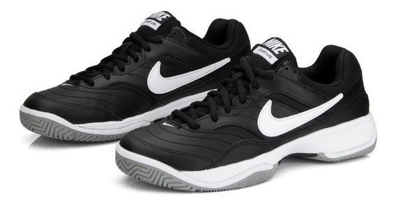 Tenis Nike Hombre Court Lite Agarre Tracción Soporte Piel Va