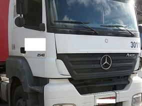 Mercedes-benz Axor 2540 Branco