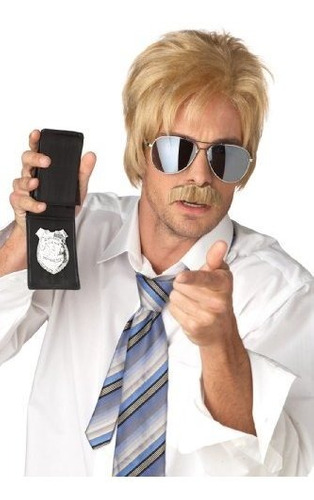 Disfraces De California Blonde Ace Detective Wig