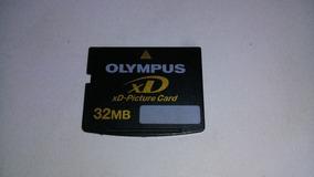 Cartão De Memoria Olympus Xd 32mb (câmeras Antigas)