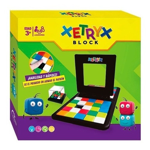 Imagen 1 de 4 de Juego De Ingenio Xetryx Game Magic Block Ik0018