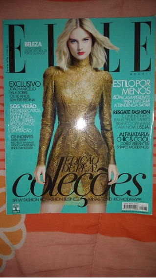 Revista Elle Edicao Dupla Colecoes