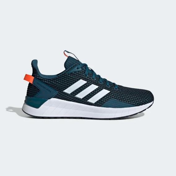 Tênis adidas Questar Ride Masculino - Azul/branco/vermelho