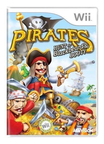 Jogo Lacrado Pirates Hunt For Blackbeards Booty Nintendo Wii