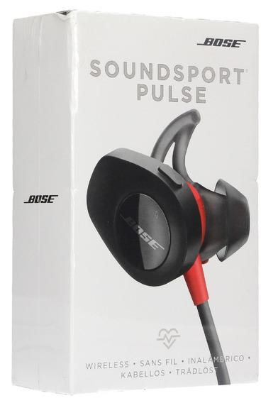 Fone De Ouvido Bose Soundsport Pulse Bluetooth - Preto/verme