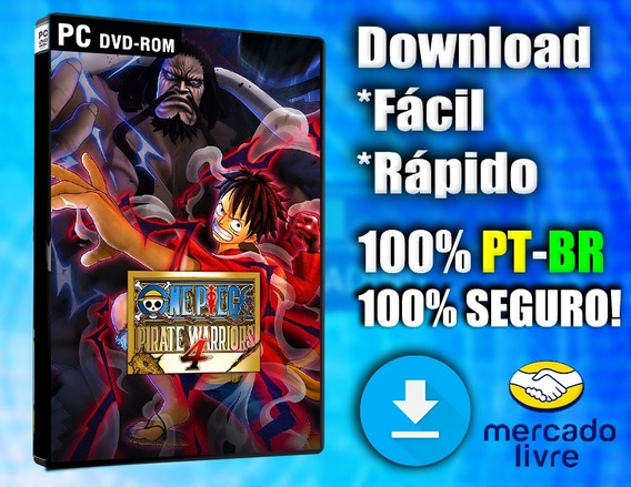 One Piece Pirate Warriors 4 - Pc - Completo! Digital!
