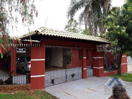 Imagem 1 de 22 de Casa Com 3 Dormitórios À Venda, 240 M² Por R$ 470.000,00 - Residencial Monte Castelo - Cambé/pr - Ca0966