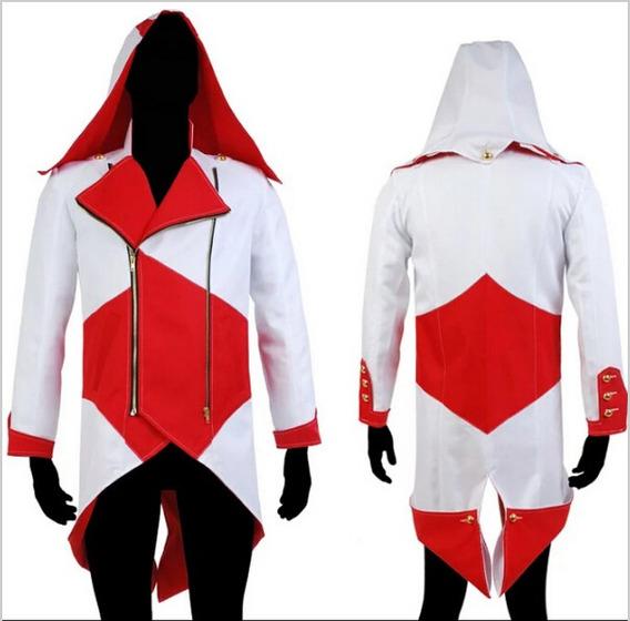 Jaqueta Assassins Creed Cosplay - Pronta Entrega!