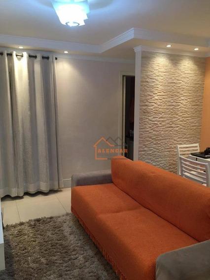 Apartamento Com 2 Dormitórios À Venda, 58 M² Por R$ 380.000,00 - Vila Aricanduva - São Paulo/sp - Ap0298