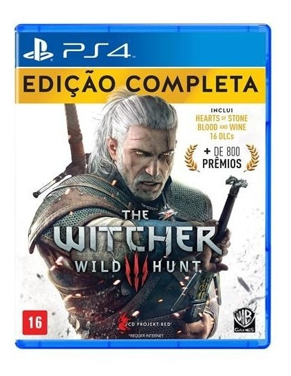 The Witcher 3 Wild Hunt Ps4 Jogo Digital Completo