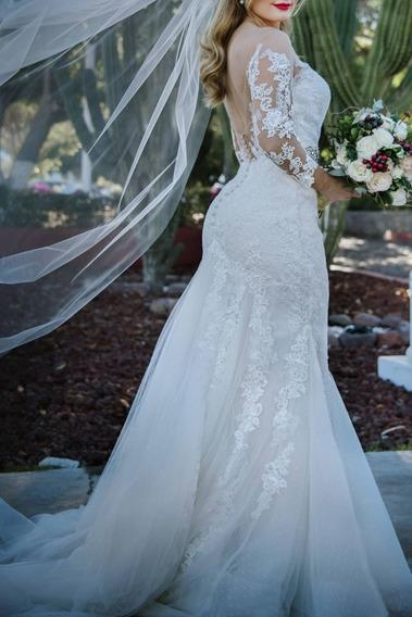 Hermoso Vestido De Novia Sposa Mia Pronovias