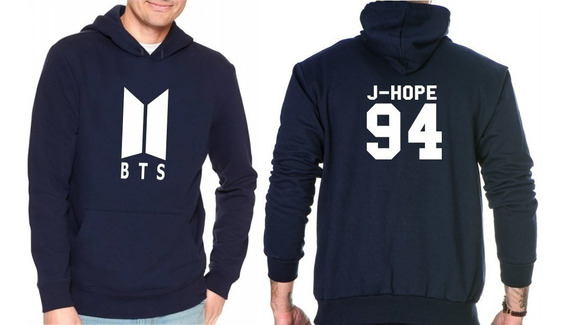 Blusa Moletom Casaco K-pop Bts Army Integrante J-hope 94
