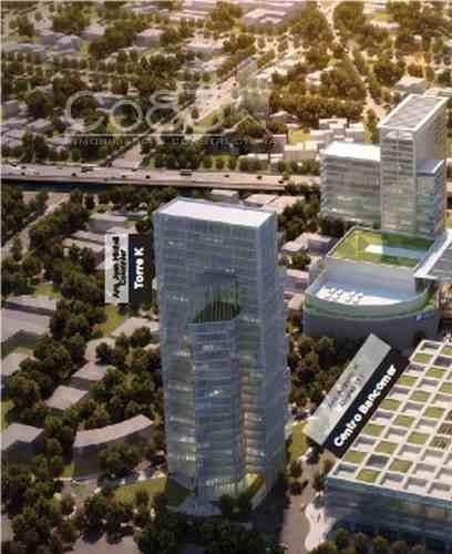 Renta - Oficina - Torre Mítikah - 1,455 M - Usd$37,841