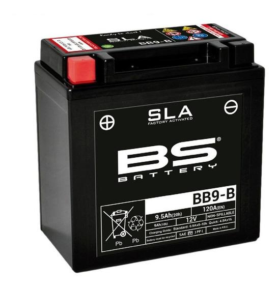 Batería Moto Bs Battery Bb9b Agm Honda Elite 150
