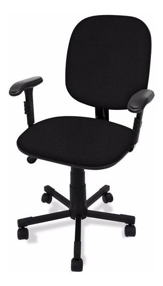 Cadeira Diretor Giratória C/ Lamina Relax E Braço Regulavel