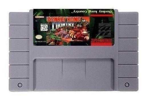 Donkey Kong Country Dk1 Português Super Nintendo Snes Novo
