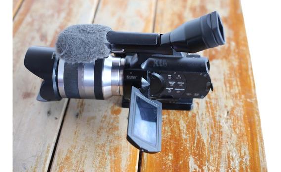 Filmadora Sony Handycam Nex-vg20 Hd Com Lente 18-200mm