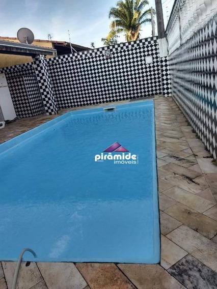 Casa Com 3 Dormitórios À Venda, 200 M² Por R$ 850.000 - Indaiá - Caraguatatuba/sp - Ca5217