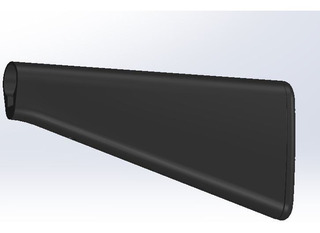Kit Supressor 32cm + Stock Fixo M16 + Handguard 30cm Airsoft