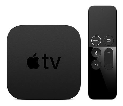 Apple Tv 1080p 32gb A1625 Nf-e 1 Ano Gar. + Cabo Hdmi