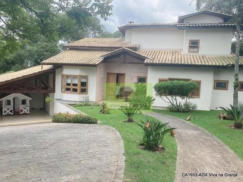 Casa Com 4 Dormitórios À Venda, 376 M² Por R$ 2.100.000,00 - Granja Viana - Jandira/sp - Ca1993