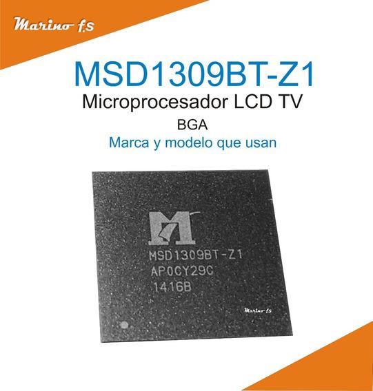 Micro Lcd Tv Msd1309bt-z1 Msd1309 Bt 1309 Pack X 2