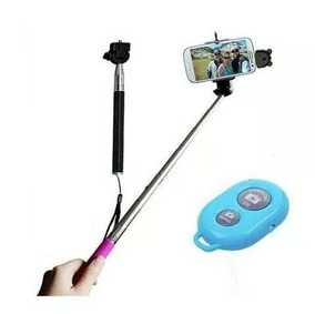 Bastão De Selfie C/ Controle Bluetooth Preto - Selfie Rod