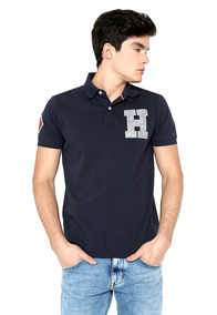 Polo Wcc Structured Badge Slim Polo - Tommy Hilfiger