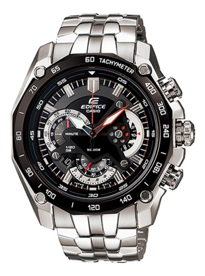Reloj Casio Edifice Cronógrafo Ef-550d-1av - 100% Original